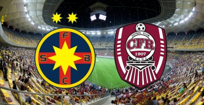 Supercupa României. CFR Cluj - FCSB, echipele de start