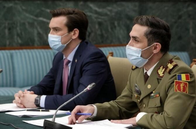 Valeriu Gheorghiță și Andrei Baciu / Foto: gov.ro