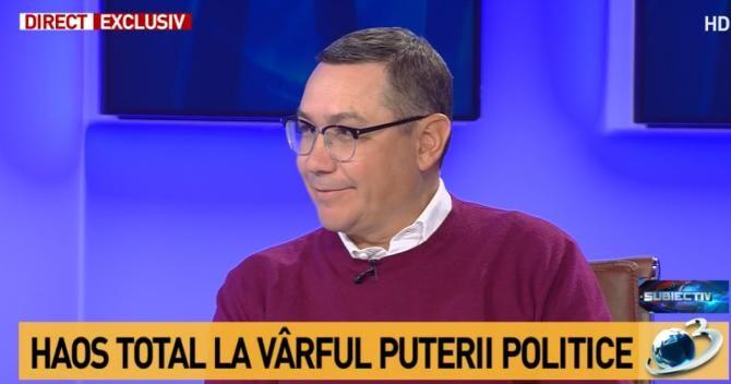 Victor Ponta / Captură Antena3