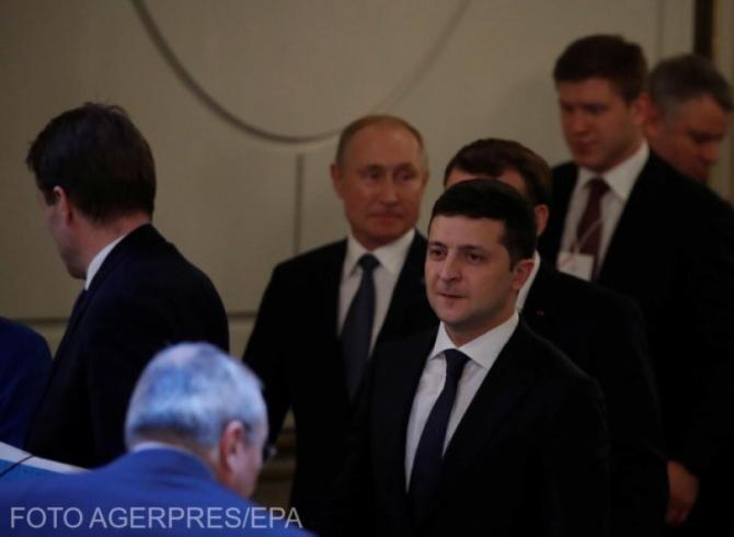 Zelenski, apel către NATO să accelereze aderarea Ucrainei la Alianţă pentru a trimite 'un semnal' Rusiei