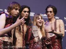 Rockerii italieni i-au devansat pe reprezentanţii Franţei, Barbara Pravi, şi Elveţiei, Gjon's Tears