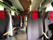 Trenul pe ruta București - Viena / Foto Andrada Oană
