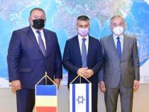David Saranga, ambasadorul Israelului la București,  în vizită la CCIR