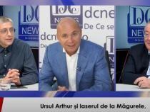 Vâlcu, Gușă și Chirieac, la DCNewsTV