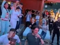 Petrecere de Paști postată pe Internet. Poliția s-a sesizat și încearcă să-i identifice pe protagoniști  /  Sursă foto: Captură Youtube