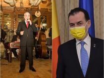 Sursa foto din colaj: Facebook Nelu Ploieșteanu / Ludovic Orban