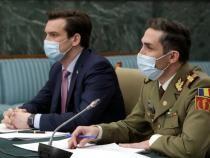 Valeriu Gheorghiță și Andrei Baciu / Foto gov.ro