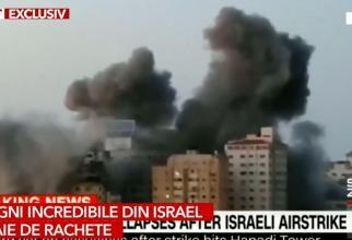 """Hamas, """"ploaie de rachete"""" peste Tel Aviv. Chirieac: La așa ceva reacționează și bursele internaționale"""
