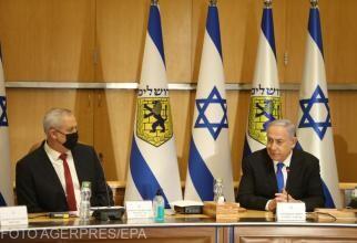 Premierul Benjamin Netanyahu, declarații în miez de noapte după atacuri