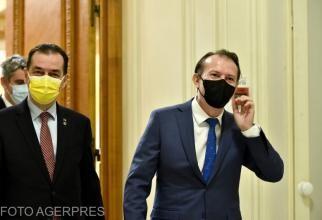 Ludovic Orban și Florin Cîțu