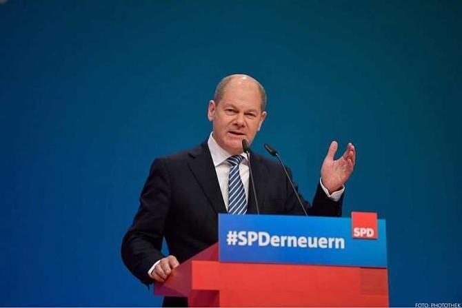Actualul ministru de finanţe Olaf Scholz, confirmat candidat al SPD pentru postul de cancelar în Germania