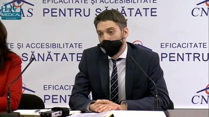 Adrian Gheorghe (CNAS) / Foto captură video