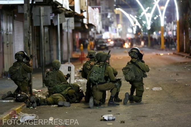 Militarii israelieni au pătruns în Fâşia Gaza în zona frontierei, pentru misiuni punctuale