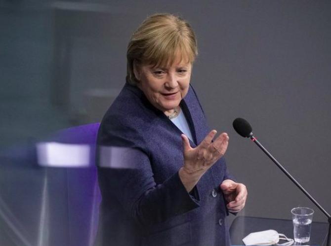 Angela Merkel Foto: Instagram