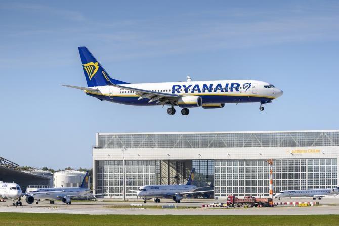 Un avion Ryanair a fost obligat să aterizeze la Berlin în urma unei alerte cu bombă    /   Foto cu caracter ilustrativ: Pixabay