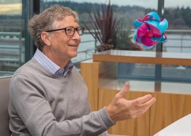 Instagram - Bill Gates