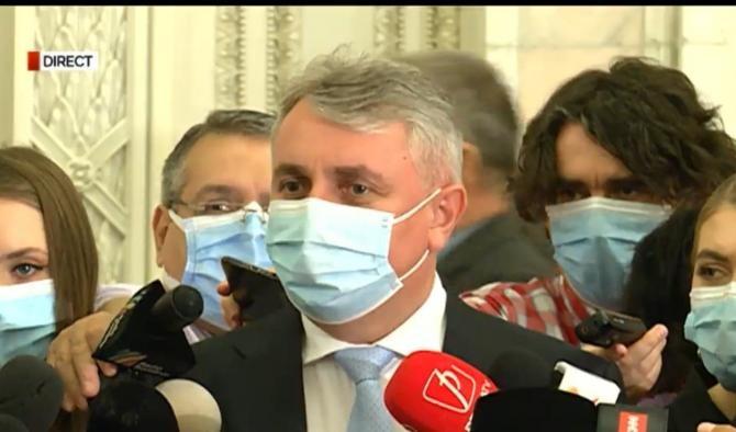 Lucian Bode, despre petrecerea din Parlament / Foto: Captură RealitateaPlus