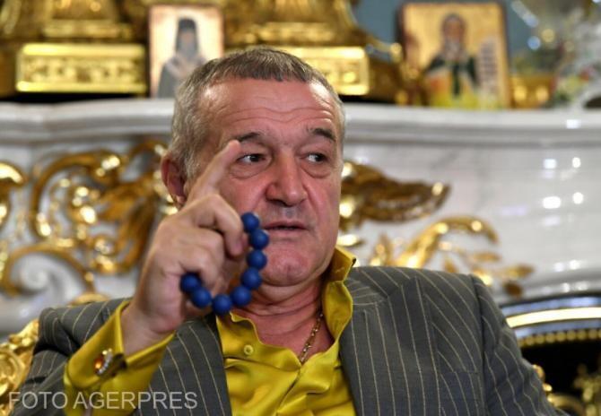 Botoșani - FCSB. Becali: Dumnezeu face totul. Nu-mi trebuie campionat furat
