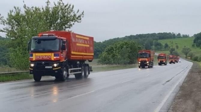Pandemia nu are granițe. 11 camioane cu ajutoare umanitare din partea României au intrat în Cernăuți  / Sursă foto: Bucpress