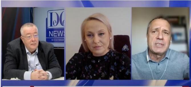 """Diana Tache, Bogdan Chirieac şi Mugur Ciuvică dezbat temele politice ale săptămânii, într-o nouă ediţie a emisiunii """"Miercurea Neagră""""."""