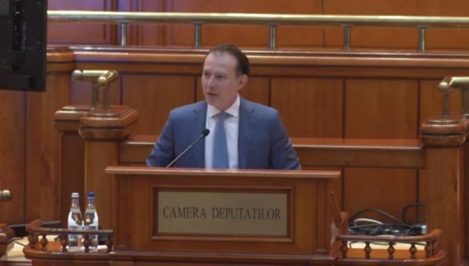 Florin Cîțu, PNRR / Foto: Captură video