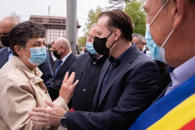 """foto Florin Cîțu Facebook/ Pensiile, incluse în PNRR. Nu vor mai putea fi majorate """"ad-hoc"""""""