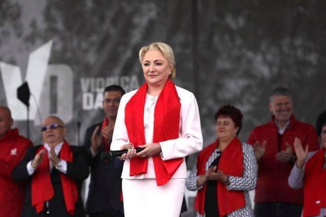 Sursa foto: Facebook Viorica Dăncilă