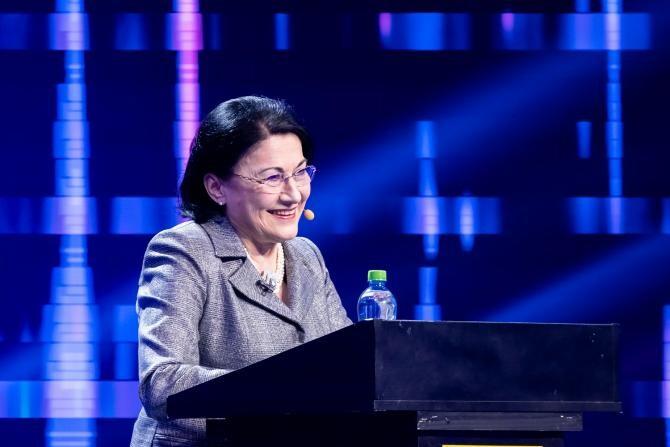 """Ecaterina Andronescu """"sparge gheața"""" și vine la iUmor: Sunt expresii pe care eu nu le-aș accepta niciodată"""