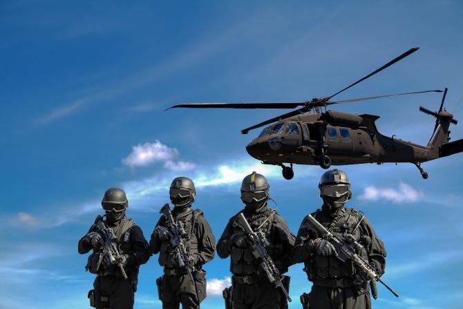 Fost militar înarmat, neutralizat de polițiști în Franța / Foto: Pixabay