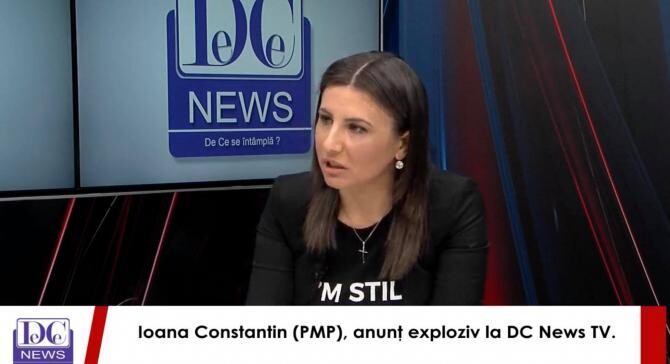 Ioana Constantin, la DCNewsTV