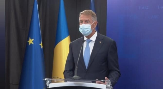 Iohannis, mesaj de la inaugurarea Centrului Euro-Atlantic pentru Reziliență / Foto> Captură video