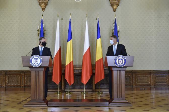 Andrzej Duda și Klaus Iohannis / Foto presidency.ro