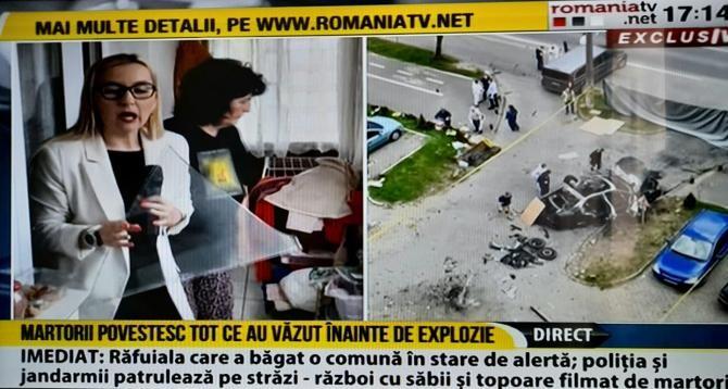 Ionel Crișan, ucis într-o explozie în propria mașină de lux. Martor, detalii despre evenimentul nefericit / Captură video România TV
