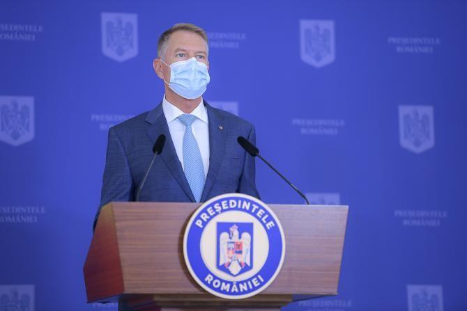 Klaus Iohannis / Foto Administrația Prezidențială