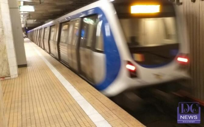 Circulație perturbată la metrou, după ce un tren s-a stricat