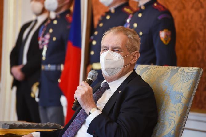 Milos Zeman.  Foto: Facebook