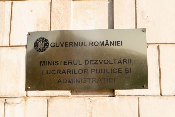 Site - Ministerul dezvoltării, lucrărilor publice și administrației