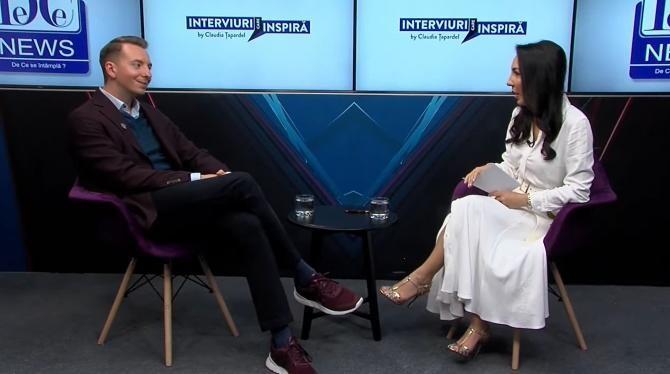 """Interviuri care Inspiră by Claudia Țapardel, cu Paul Olteanu, """"Arhitectul Minții"""""""