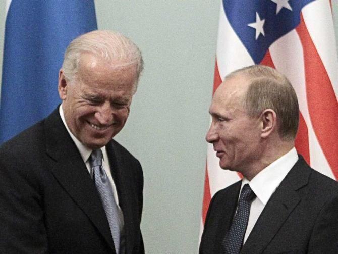 Preşedintele Joe Biden speră să se poată întâlni cu omologul rus Vladimir Putin în luna iunie