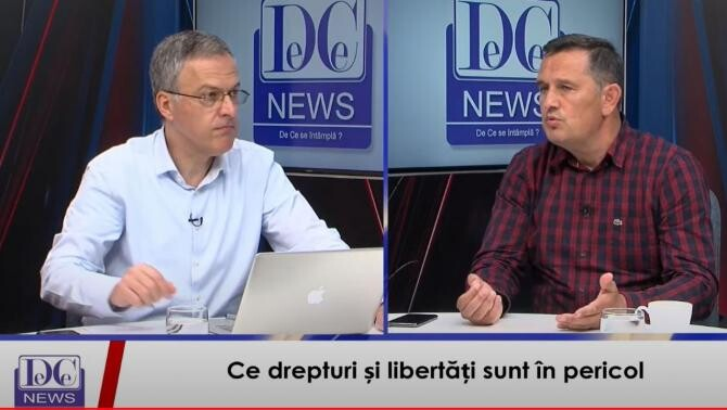 Răzvan Dumitrescu și avocatul Gheorghe Piperea