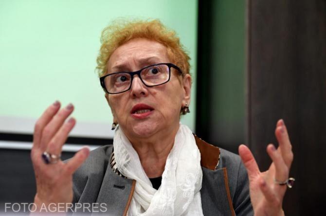 Renate Weber spune că nu beneficiază de pensie specială: Nu am contribuit la sistemul de pensii de stat public
