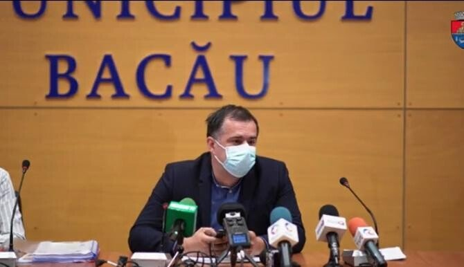Lucian Daniel Stanciu Viziteu, primarul Bacăului  Foto: Facebook