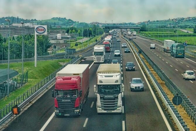 Şoferi de TIR din zona Calais/ Foto ilustraţie/ Sursa: Pixabay