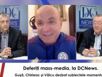 foto captură Deferiția mass-media