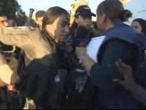 Jurnalistă Al Jazeera, arestată în timpul protestelor din Israel / Foto: Captură video Twitter