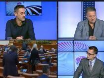 Mario De Mezzo și Antonio Andrușceac, ceartă în direct la TV / Foto: Captură video Realitatea Plus