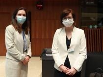 Ioana Mihăilă, prezentă la reuniunea miniștrilor sănătății din UE / Foto: Ministerul Sănătății
