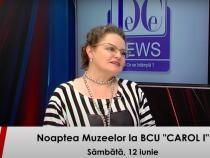Mireille Rădoi, director BCU Carol I, la DCNewsTV
