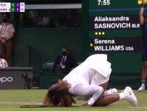 Serena Williams, în lacrimi la Wimbledon. A ieșit de pe teren plângând / Captură Video Stan Sport Australia