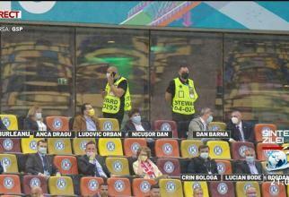 Politicienii la tribuna VIP, Generaţia de Aur la tribuna a II-a. De ce nu îi reproşează Vâlcu nimic lui Burleanu